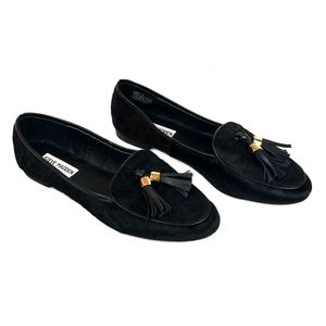 New Steve Madden Lunni Loafers Black 8